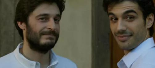 Gianmarco Saurino e Lino Guanciale.