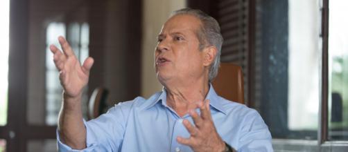 José Dirceu dá entrevista ao site El País. (foto reprodução).