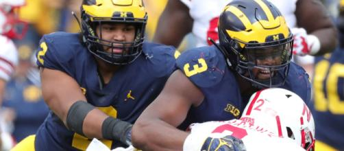 Michigan will face Northwestern in Week 5 action. [Image via USA Today Sports/YouTube]