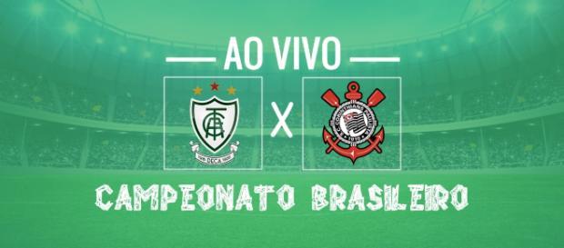América-MG x Corinthians ao vivo