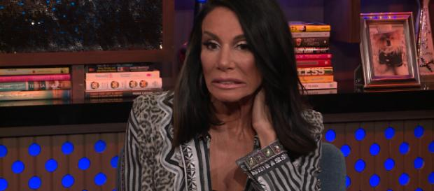 Danielle Staub is seen on 'Watch What Happens Live.' [Image source: Bravo TV/YouTube]