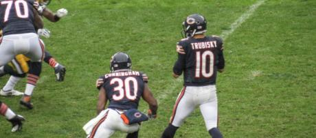 Mitchell Trubisky threw for six touchdown passes on Sunday. [Image Source: Flickr | tim putala]