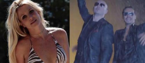 Britney Spears e la collaborazione con Pitbull e Marc Anthony. Blasting News