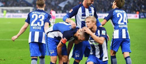 L'Hertha Berlino vince 2-0 contro il Bayern Monaco
