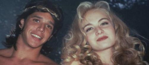 Marcio Garcia e Angélica já namoraram (Reprodução).