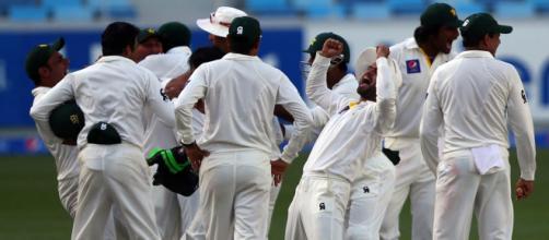 Pakistan v Australia, 1st Test, Dubai ... - (Image via espncricinfo/Twitter)