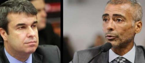 Romário agora está em terceiro lugar nas intenções de votos