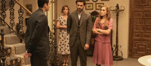Trame, Il Segreto: Raimundo scaccia Julieta e Saul dalla Villa, il ritorno di Dolores