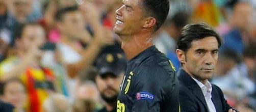 Valence-Juventus : Cristiano Ronaldo en larmes après avoir écopé d'un carton rouge