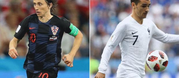 Modric y Griezmann, un partido que apunta al próximo balón de Oro