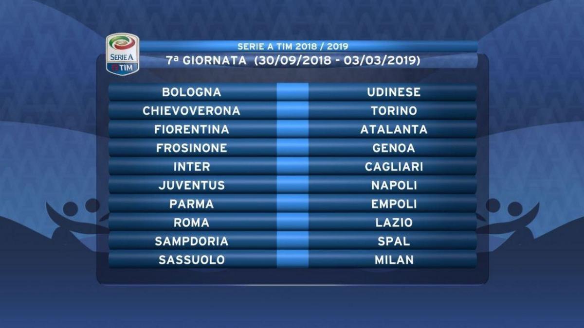 Calendario Serie A Su Dazn.Calendario Serie A Settima Giornata In Diretta Su Dazn E