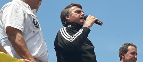 Bolsonaro esteve no Acre neste domingo