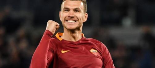 Calciomercato Roma, Dzeko potrebbe rinnovare fino al 2021