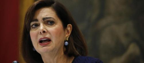 Laura Boldrini lancia la lista LUE, sinonimo di sifilide