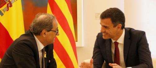 Pedro Sánchez, a favor de que se celebre un referéndum sobre el autogobierno en Cataluña