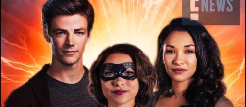 The West-Allen family are featured in the new poster for the fifth season of 'The Flash' [Image Credit: Pagey/YouTube screenshot]