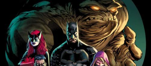 Cara de Barro na capa de Detective Comics.