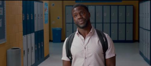 Kevin Hart's new movie, 'Night School,' is looking to take the top spot for this weekend's box office. - [Universal Pictures / YouTube screencap]