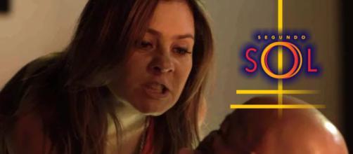 Laureta descobre que Galdino a traiu e decide matá-lo