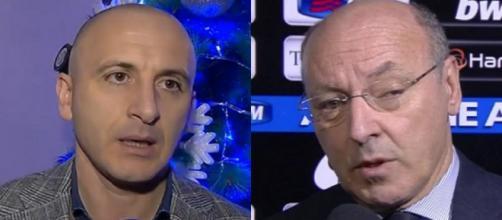 Piero Ausilio e Giuseppe Marotta