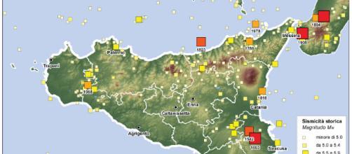 I terremoti etnei | foto INGVterremoti - wordpress.com