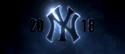 The Yankees are hoping to make the World Series in 2018 after falling one game short last year.[image source: New York Yankees - YouTube]