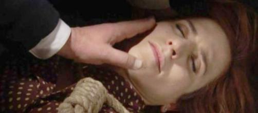 Trame, Il Segreto: Mauricio trova Fè in fin di vita, Nazaria sparisce nel nulla