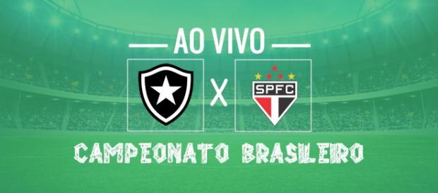 Brasileirão: Botafogo x São Paulo ao vivo