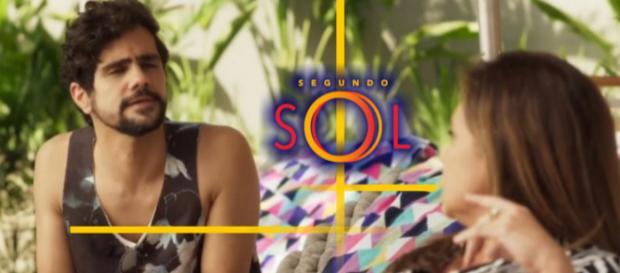 Fim trágico de Du Love na novela Segundo Sol. (foto reprodução).
