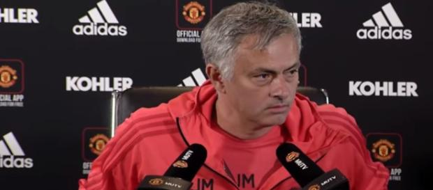 Jose Mourinho - Man United owners not likey to knee jerk and fire him for Loss - Image credit - Manchester United | YouTube