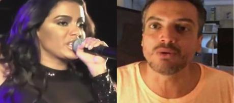 Leo Dias e Anitta (Foto - Reprodução)
