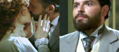 Anticipazioni Una Vita: Celia e Felipe si baciano, Martin finge di essere Antonito