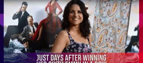 Julia Louis-Dreyfus feels strong in her return to 'Veep' and in her fight against breast cancer. [Access / YouTube screencap]