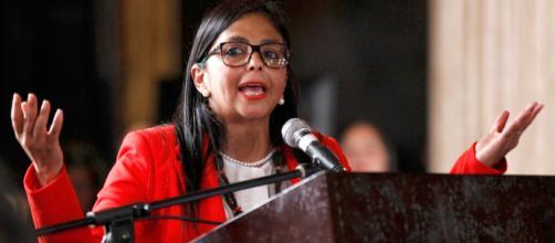 La socialista Delcy Rodriguez aseguró que en Venezuela no hay crisis migratoria