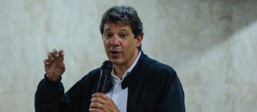 MP de São Paulo acusa Haddad de enriquecimento ilícito por caixa 2