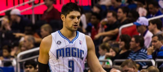 The Orlando Magic and center Nikola Vucevic could part ways soon. / Photo via Michael Tipton, Flickr CC