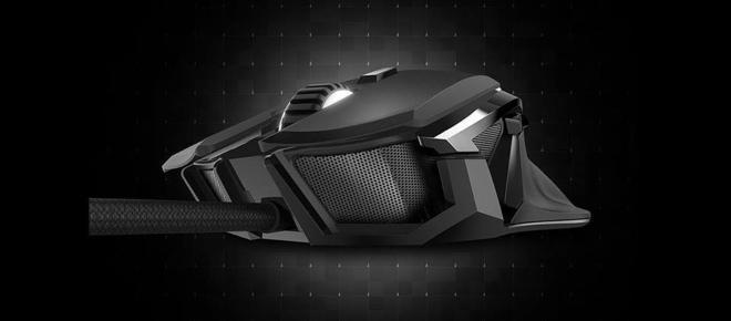 El Azio Aventa lanzó un mouse para gamers con case de metal