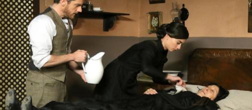 Anticipazioni Una Vita: Mauro e Teresa nascondono Ursula nella pensione in cui alloggiano