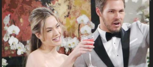 Hope and Liam will be affected bySteffy's business decision. (Image Source: Soaps in Depth-YouTube.)