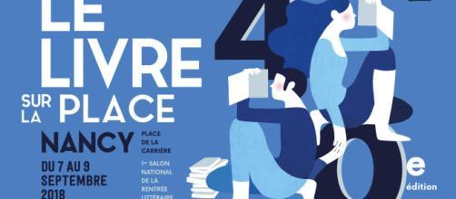 Le Livre sur la Place, Nancy, du sept au 9 Septembre 2018