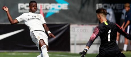 Jogador está no Real Madrid Castilla