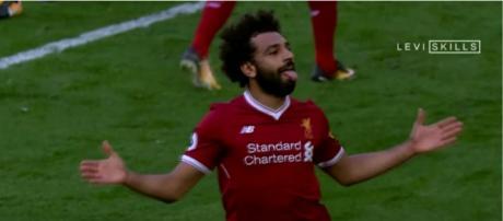 Mohamed Salah [Imagem via YouTube/Levi Skills]