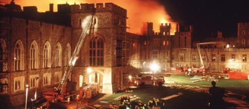 Incêndio em Windsor em chamas em 1992
