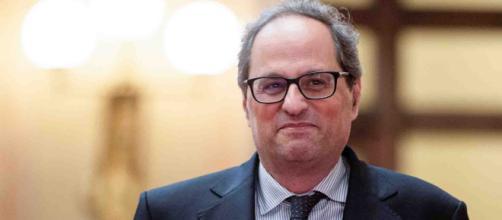 Quim Torra dice que llegará tan lejos como Puigdemont en sus aspiraciones políticas