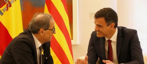 Sánchez apela a Torra para que no rompa el mandato de las sentencias judiciales