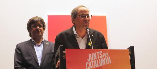 El presidente de Cataluña ha afirmado llegar tan lejos como su antecesor Carles Puidemont en las confrontaciones con el Estado
