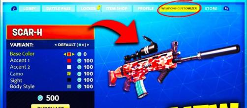 Weapon skins are coming to Fortnite Battle Royale. [Image Credit: Tridzo / YouTube]