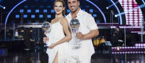 Yana Olina y David Bustamante se convierten en ganadores