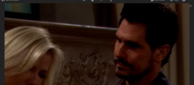 Brooke may reunite with Bill because of ension with Ridge. (Image Source: The Bold and the Beautiful UK-YouTube.)
