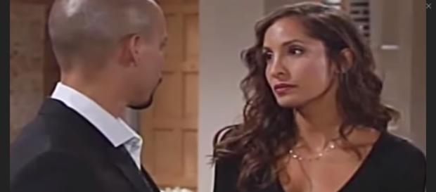 Devonust adjust to life in Genoa City without Lily and Hilary. - [Arianiber Lantein / YouTube screencap]